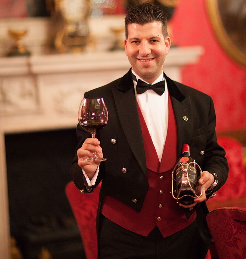 Head sommelier the Ritz London
